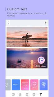 Androidアプリ「PINS : Funny Photo Grid Maker, Montage, Scrapbook」のスクリーンショット 2枚目