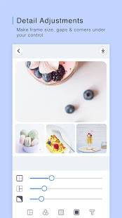 Androidアプリ「PINS : Funny Photo Grid Maker, Montage, Scrapbook」のスクリーンショット 4枚目