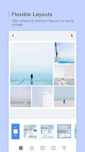 Androidアプリ「PINS : Funny Photo Grid Maker, Montage, Scrapbook」のスクリーンショット 1枚目