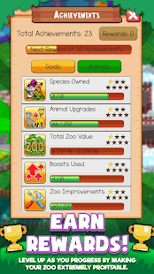Androidアプリ「Idle Zoo Tycoon: Tap, Build & Upgrade a Custom Zoo」のスクリーンショット 5枚目