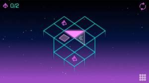 Androidアプリ「Neo Angle - Retro 3D Puzzle」のスクリーンショット 2枚目