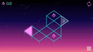 Androidアプリ「Neo Angle - Retro 3D Puzzle」のスクリーンショット 1枚目