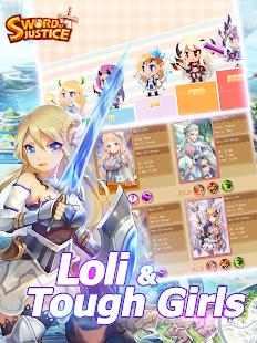 Androidアプリ「Sword Of Justice(ARPG)」のスクリーンショット 3枚目