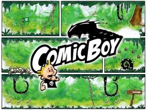 Androidアプリ「Comic Boy」のスクリーンショット 1枚目