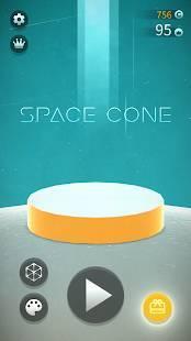 Androidアプリ「宇宙筍 Space Cone」のスクリーンショット 2枚目