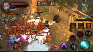 Androidアプリ「Dungeon Chronicle」のスクリーンショット 1枚目
