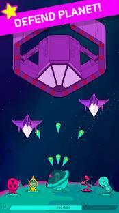 Androidアプリ「Stellar! - Infinity defense」のスクリーンショット 1枚目