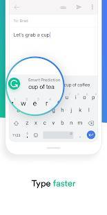Androidアプリ「Grammarly Keyboard — Type with confidence」のスクリーンショット 2枚目