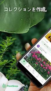 Androidアプリ「PlantSnap - 植物、樹木、花の鑑定」のスクリーンショット 1枚目