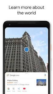 Androidアプリ「Google レンズ」のスクリーンショット 2枚目