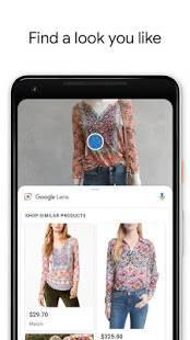 Androidアプリ「Google レンズ」のスクリーンショット 4枚目