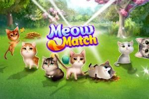 Androidアプリ「ニャンニャンマッチング: ネコのマッチ3パズルの冒険」のスクリーンショット 3枚目