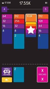Androidアプリ「Twenty48 Solitaire」のスクリーンショット 1枚目