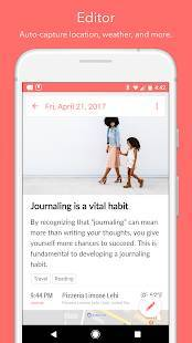 Androidアプリ「Day One Journal」のスクリーンショット 3枚目