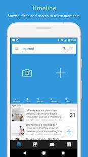 Androidアプリ「Day One Journal」のスクリーンショット 2枚目