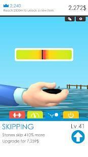 Androidアプリ「Stone Skimming」のスクリーンショット 2枚目