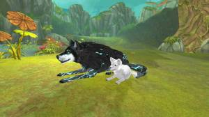 Androidアプリ「Wolf: The Evolution:-ンラインRPG」のスクリーンショット 1枚目