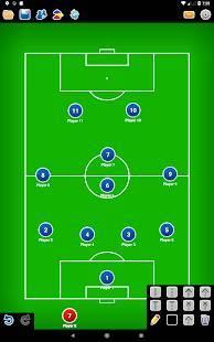 Androidアプリ「コーチ戦術的なボード-サッカー」のスクリーンショット 5枚目