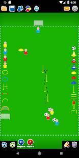 Androidアプリ「コーチ戦術的なボード-サッカー」のスクリーンショット 2枚目
