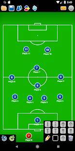Androidアプリ「コーチ戦術的なボード-サッカー」のスクリーンショット 1枚目