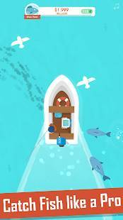 Androidアプリ「Hooked Inc: Fisher Tycoon」のスクリーンショット 2枚目