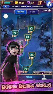 Androidアプリ「Hotel Transylvania: Monsters! - Puzzle Action Game」のスクリーンショット 4枚目