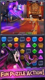 Androidアプリ「Hotel Transylvania: Monsters! - Puzzle Action Game」のスクリーンショット 1枚目