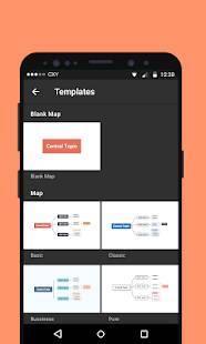 Androidアプリ「XMind マインドマップ」のスクリーンショット 3枚目