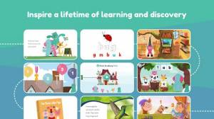 Androidアプリ「Khan Academy Kids: Free educational games & books」のスクリーンショット 1枚目