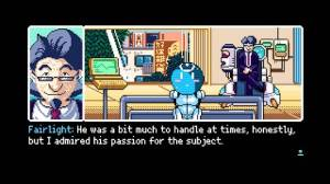 Androidアプリ「Read Only Memories: Type-M」のスクリーンショット 5枚目
