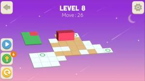 Androidアプリ「Bloxorz: Roll the Block」のスクリーンショット 2枚目