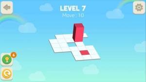 Androidアプリ「Bloxorz: Roll the Block」のスクリーンショット 1枚目