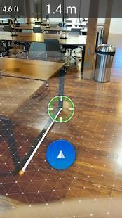 Androidアプリ「AirMeasure - AR Tape Measure & Ruler」のスクリーンショット 1枚目