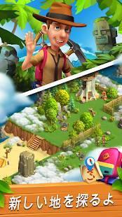Androidアプリ「ファンキーベイ - 牧場と冒険の物語 (Funky Bay)」のスクリーンショット 3枚目