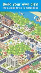 Androidアプリ「Pocket City」のスクリーンショット 1枚目