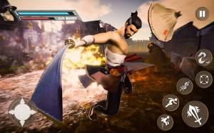 Androidアプリ「影の忍者の戦士 - 武士の戦いのゲーム2018」のスクリーンショット 1枚目