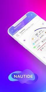 Androidアプリ「NAUTIDE: 潮、風、波、太陽と月、海と」のスクリーンショット 1枚目