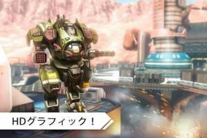 Androidアプリ「ロボットウォーフェア:バトルメカ」のスクリーンショット 3枚目