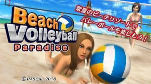 Androidアプリ「ビーチバレーボール パラダイス」のスクリーンショット 1枚目