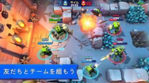 Androidアプリ「戦車がいっぱい:リアルタイムマルチプレイヤーバトルアリーナ」のスクリーンショット 3枚目