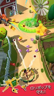 Androidアプリ「Candy Patrol:ロリポップ・ディフェンス」のスクリーンショット 1枚目