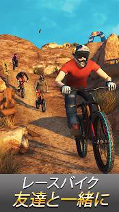 Androidアプリ「Bike Unchained 2」のスクリーンショット 1枚目