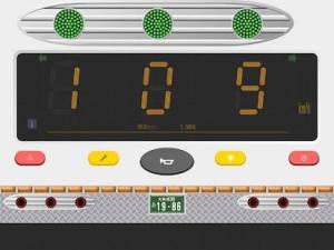 Androidアプリ「トラック八郎(速度表示灯付きデコトラスピードメーター)」のスクリーンショット 5枚目