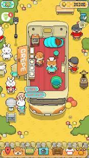 Androidアプリ「柴犬のクレープ屋さん - かわいいワンコたちを育成しよう!」のスクリーンショット 1枚目