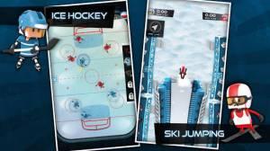 Androidアプリ「Flick Champions Winter Sports」のスクリーンショット 4枚目