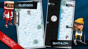 Androidアプリ「Flick Champions Winter Sports」のスクリーンショット 1枚目