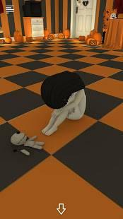 Androidアプリ「脱出ゲーム Spooky 雨と少女とぬいぐるみ」のスクリーンショット 3枚目