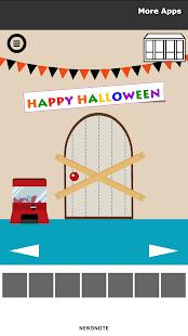 Androidアプリ「脱出ゲーム 小人を探せ!2 Halloween」のスクリーンショット 1枚目