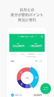 Androidアプリ「LINE家計簿」のスクリーンショット 4枚目
