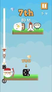Androidアプリ「Bump Jump Race -レーシングアクションゲーム-」のスクリーンショット 2枚目